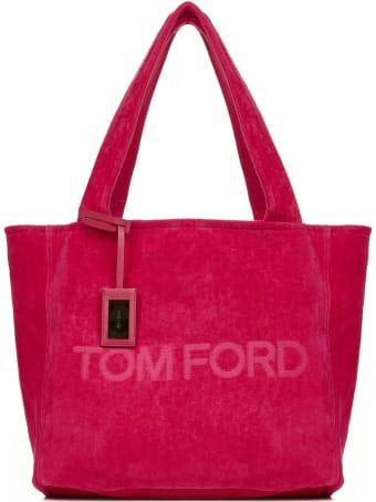 Tom Ford Velvet Tote Bag