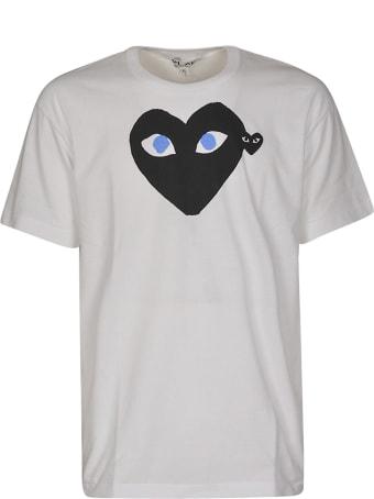 Comme des Garçons Play Heart Face T-shirt
