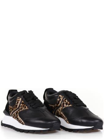 Voile Blanche Sneakers Qwark Animalier