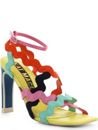 Kat Maconie Omela Yellow Multicolor Sandal
