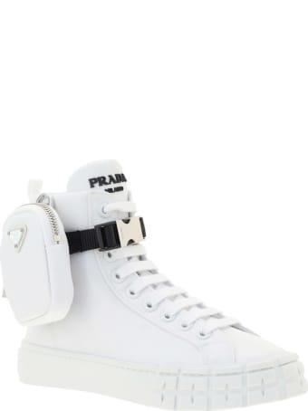 Prada Cassetta Wheel Sneakers