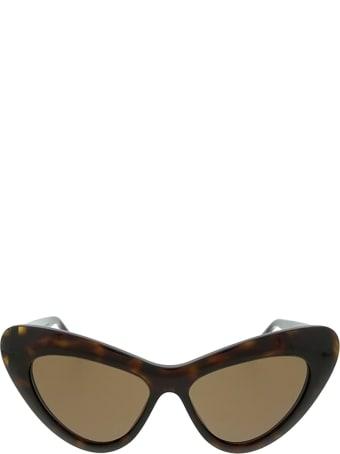 Gucci Gucci Gg0895s Dark Havana Sunglasses