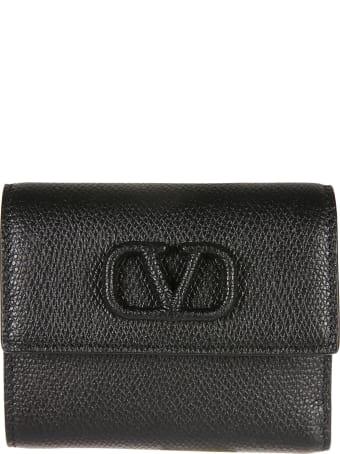 Valentino Garavani Logo Wallet
