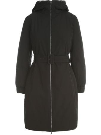 Seventy Reversible Padded Jacket W/hood And Belt