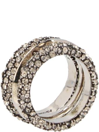 Alexander McQueen 'punk Triple' Ring