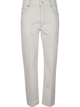 Stella McCartney Rear Patched Cropped Jeans