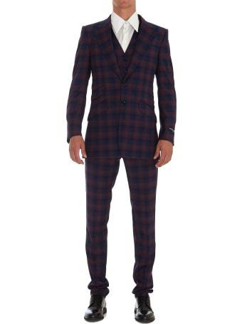 Dolce & Gabbana Check Suit
