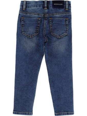 Monnalisa Jeans With Embroidery