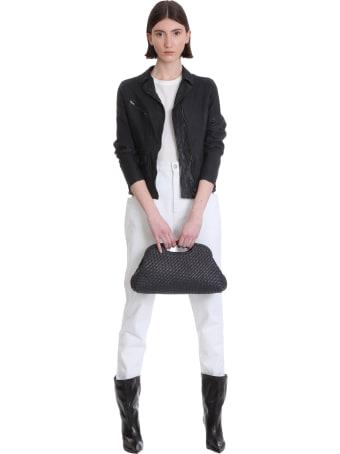 Salvatore Santoro Biker Jacket In Black Leather
