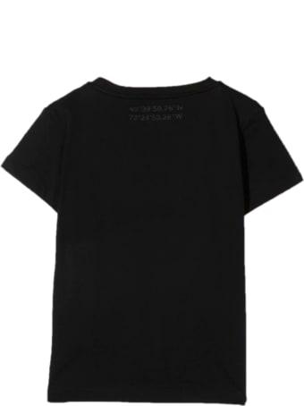 Paolo Pecora Black Cotton T-shirt