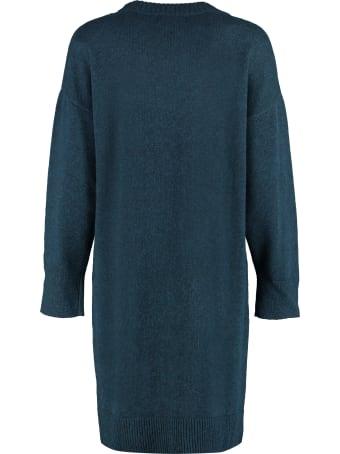 Maison Labiche Embroidered Knit Dress