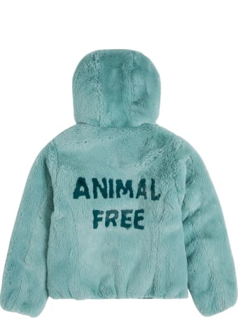 Save the Duck Mimi Animal Free Green Ecological Fur