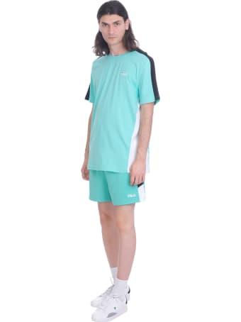 Fila Ajax Shorts In Green Polyester