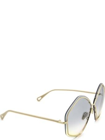 Chloé Chloé Ch0065s Gold Sunglasses