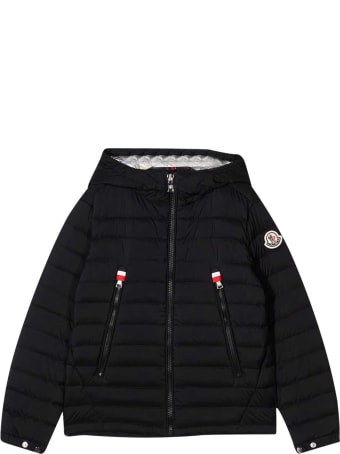 Moncler Black Down Jacket Moncler Enfant
