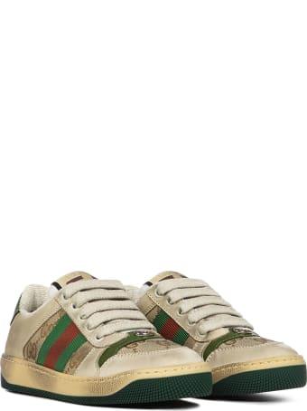 Gucci Junior Screener Sneakers