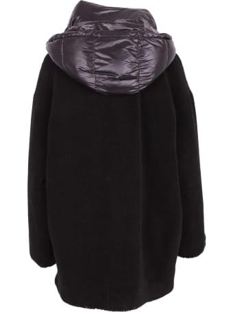 Ermanno Firenze Wool Hoodie Coat