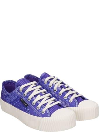 Superga Sneakers In Viola Canvas