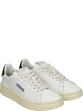 Autry Dallas Sneakers In White Leather