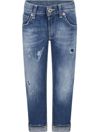 Dondup Light Blue ''brady'' Jeans For Boy