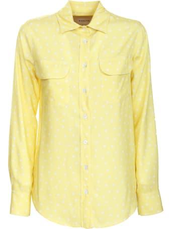 Bagutta yellow polka dot shirt