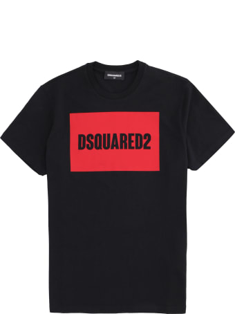 Dsquared2 Printed Cotton T-shirt