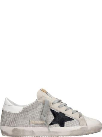 Golden Goose Superstar Sneakers In Beige Leather