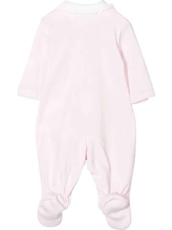 Monnalisa Newborn Pink Onesie