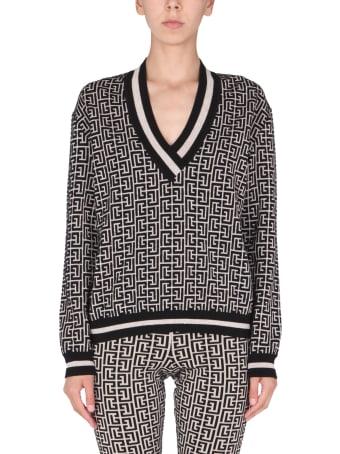 Balmain V-neck Sweater