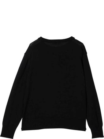 N.21 Nº21 Kids Black Teen Sweater