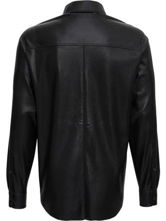 Nanushka Declan Shirt In Vegan Leather