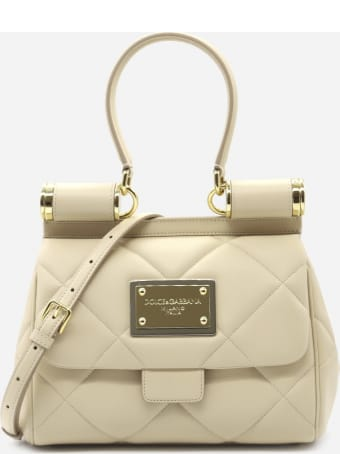 Dolce & Gabbana Medium Sicily Bag In Quilted Leather