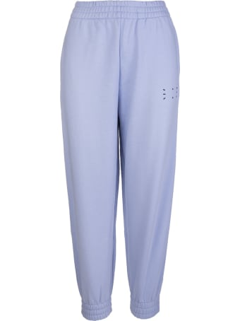 McQ Alexander McQueen Woman Lilac Slim Fit Joggers With Logo