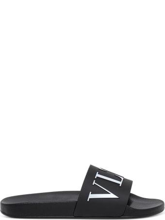 Valentino Vltn Slide Sandals