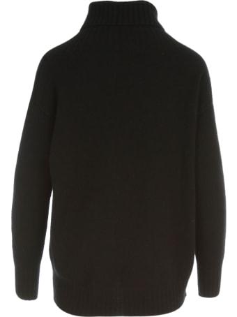 Drumohr Asymmetric Turtle Neck L/s Sweater