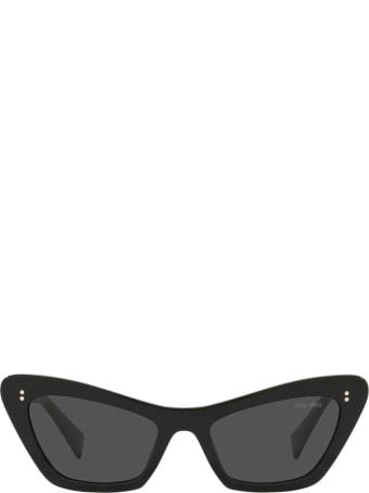 Miu Miu Miu Miu Mu 03xs Black Sunglasses