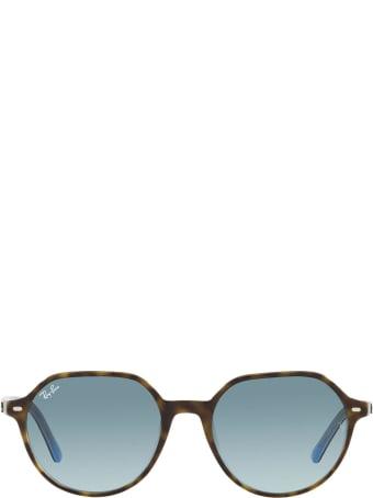 Ray-Ban Ray-ban Rb2195 Havana On Light Blue Sunglasses