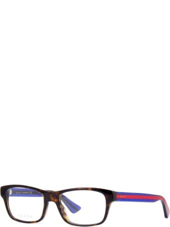 Gucci Gucci Gg0006o Dark Havana Glasses