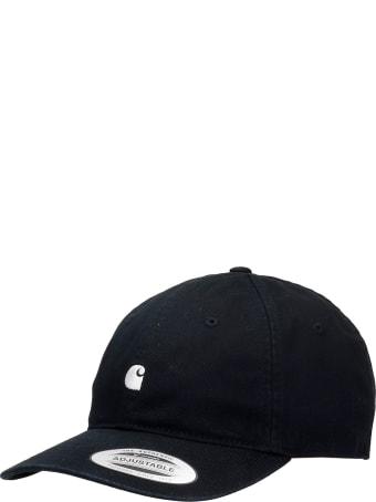 Carhartt Hats In Black Cotton