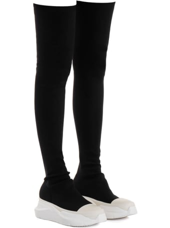 DRKSHDW Abstract Stockings Boots