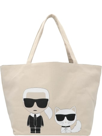 Karl Lagerfeld 'ikonic Karl & Choupette' Bag