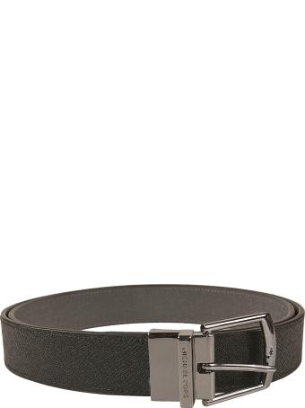 Michael Kors Grained Leather Belt