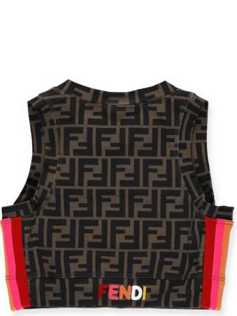 Fendi Fabric Top