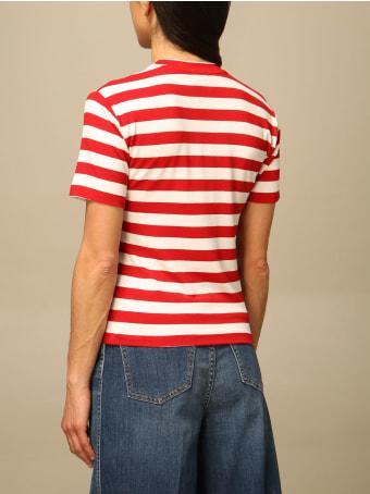 Stella Jean T-shirt Stella Jean Striped Cotton T-shirt