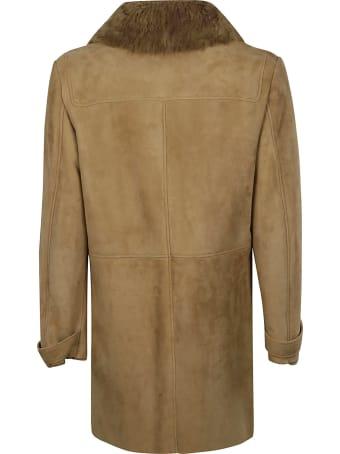Desa 1972 Curly Suede Coat