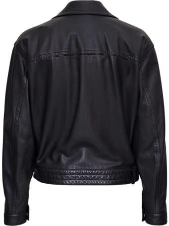 Saint Laurent Plonge Classic Leather Jacket