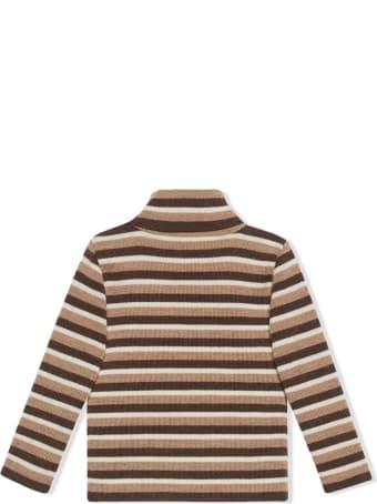 Gucci Baby Gucci Stripe Wool Polo Neck