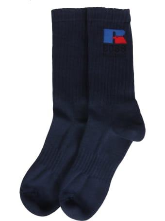 Hugo Boss Socks With Exclusive Logo