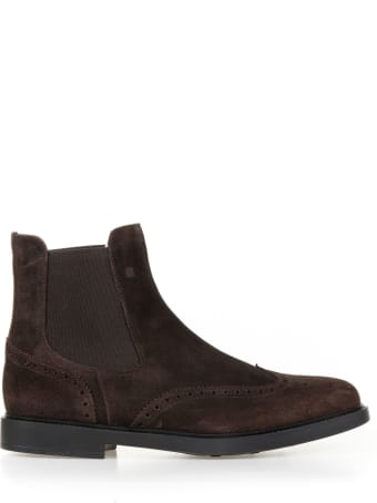 Fratelli Rossetti One Beatles In Brown Suede