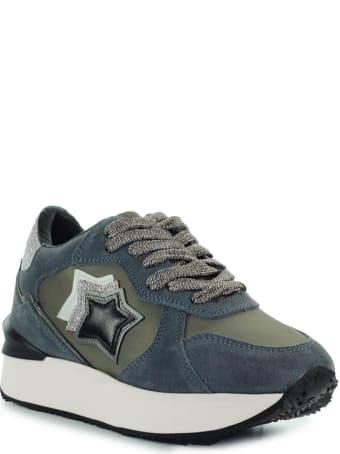 Atlantic Stars Andromeda Grey Glitter Sneaker